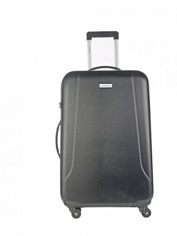 Velký cestovní kufr CarryOn Skyhopper černý