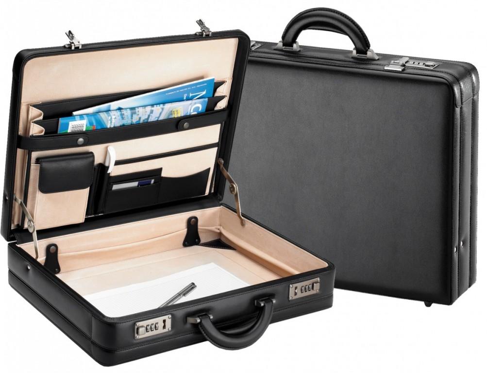 Atašé kufr D&N 2632-01 černý