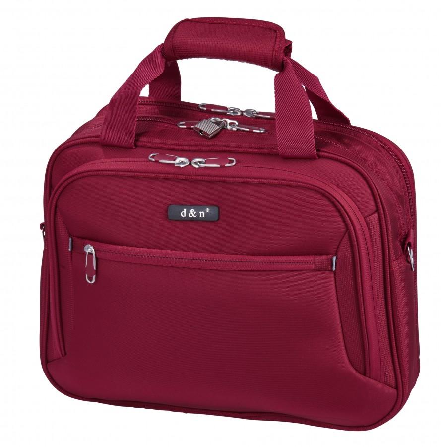 Cestovní taška na kufr D N 6420-12 bordová  7745c24b12