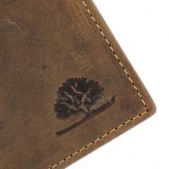 Kožená peněženka Greenburry 1661-25 hnědá č.6