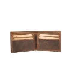 Kožená peněženka Greenburry 1661-25 hnědá č.7