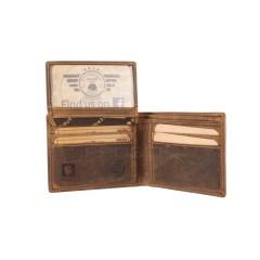 Kožená peněženka Greenburry 1661-25 hnědá č.8