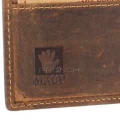 Kožená peněženka Greenburry 1661-25 hnědá č.9