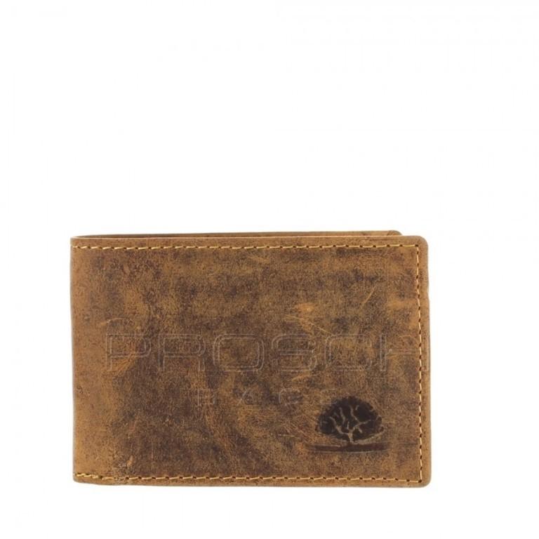 Kožená peněženka Greenburry 1659-25 hnědá