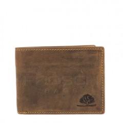 Kožená peněženka Greenburry 1661-25 hnědá č.1