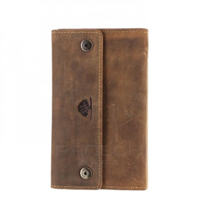 Kožená peněženka s řetězem Greenburry 1820AS-25
